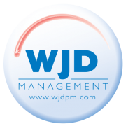 wjd management round logo