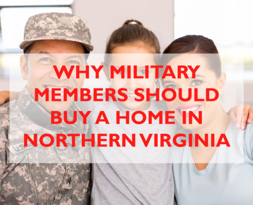 why military members should buy a home in Northern Virginia